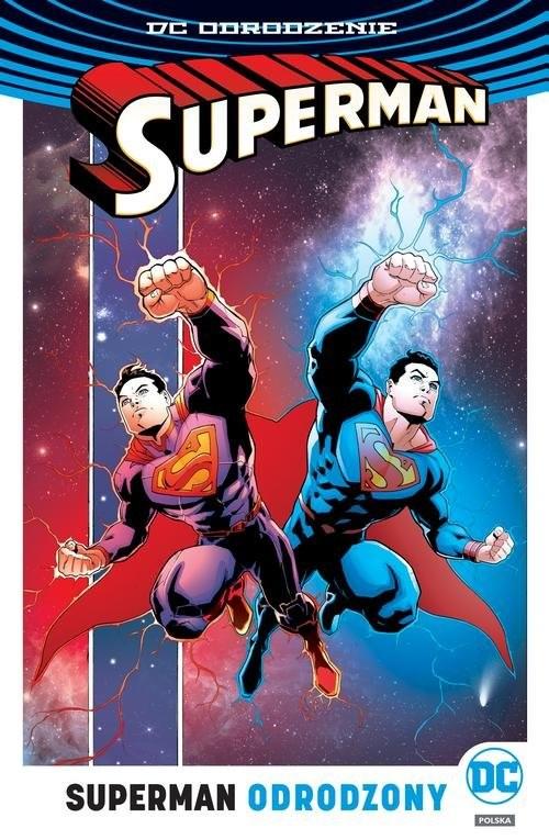 okładka Superman Tom 4 Odrodzony, Książka | Dan Jurgens, Peter J. Tomasi, Patrick Gleason