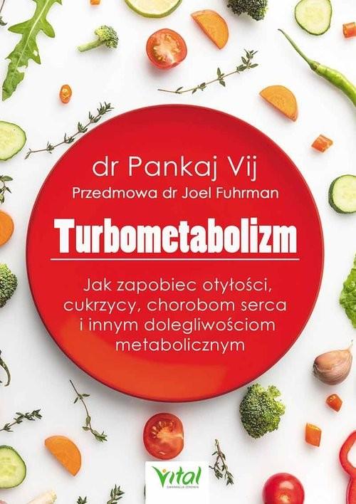 okładka Turbometabolizm, Książka | Vij Pankaj