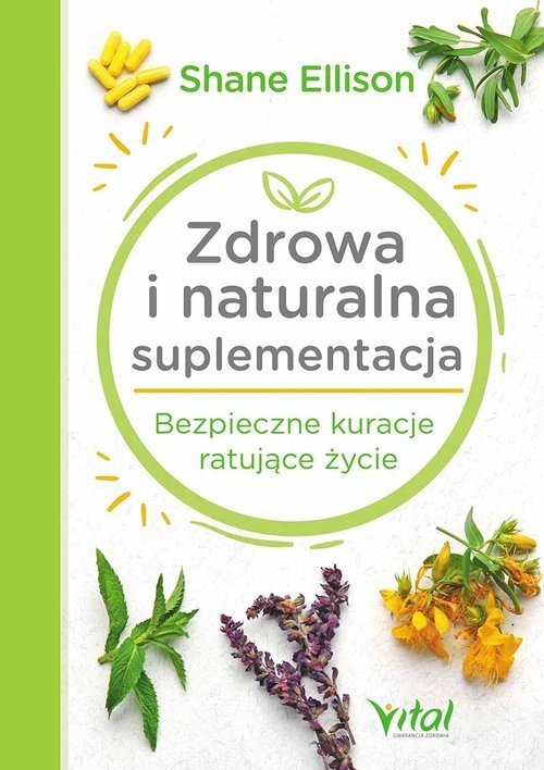 okładka Zdrowa i naturalna suplementacja, Książka | Ellison Shane