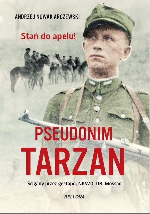 okładka Pseudonim Tarzan, Książka | Andrzej Nowak-Arczewski
