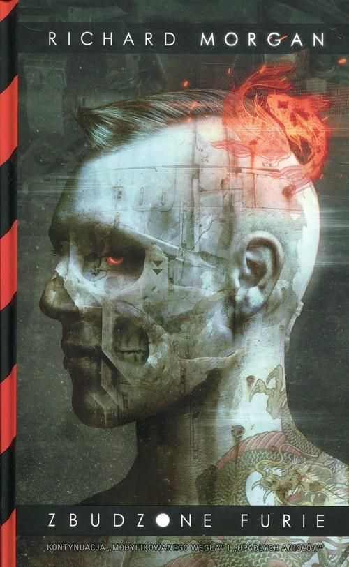 okładka Zbudzone furie, Książka   Morgan Richard