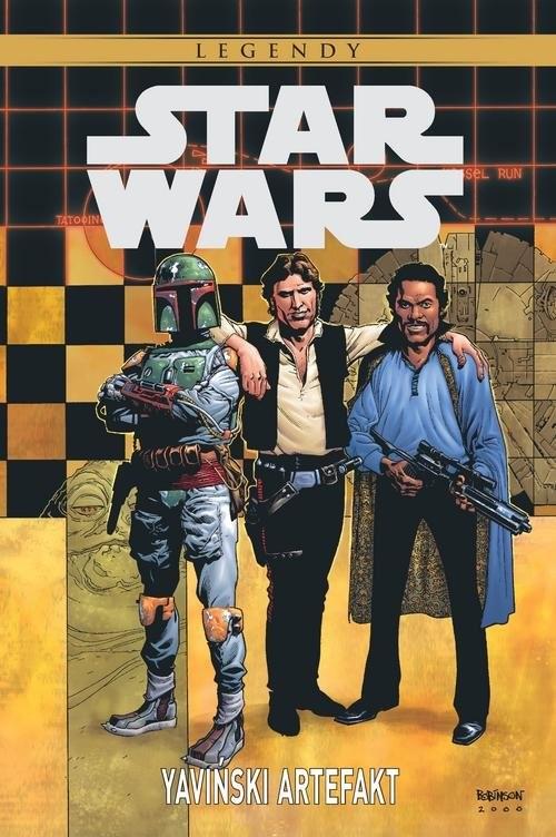 okładka Star Wars Legendy Yaviński artefakt, Książka   Mike Kennedy, Carlos Meglia