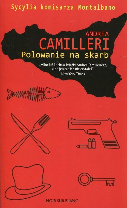 okładka Polowanie na skarb, Książka | Andrea Camilleri