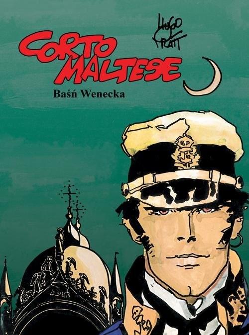 okładka Corto Maltese Tom 7 Baśń wenecka. KsiążkaPratt Hugo