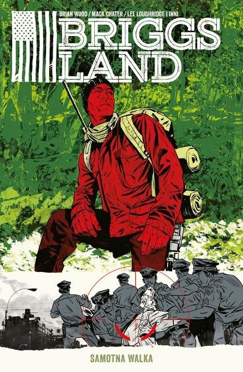 okładka Briggs Land Tom 2 Samotna walka, Książka | Wood Brian, Mack Chater, Vanesa R. DelRey, De
