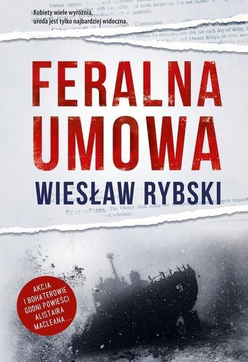 okładka Feralna umowa, Książka | Rybski Wiesław