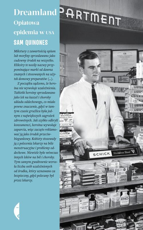 okładka Dreamland Opiatowa epidemia w USAksiążka |  | Quinones Sam