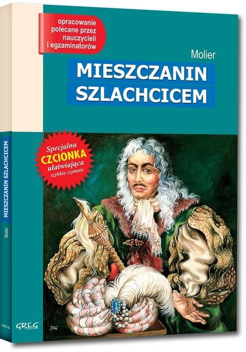 okładka Mieszczanin szlachcicem Wydanie z opracowaniem, Książka | Molier