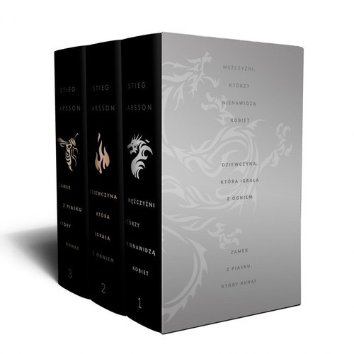 okładka Millennium Trylogia de lux Pakietksiążka      Larsson Stieg