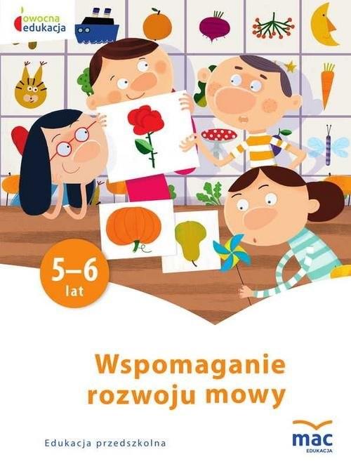 okładka Wspomaganie rozwoju mowy, Książka | Żaba-Żabińska Wiesława