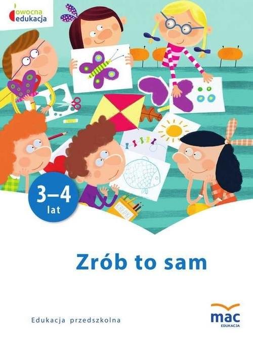 okładka Zrób to sam Młodsze przedszkolaki, Książka | Kwiecień Marzena
