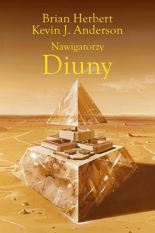 okładka Nawigatorzy Diuny, Książka | Brian Herbert, Wojciech Siudmak