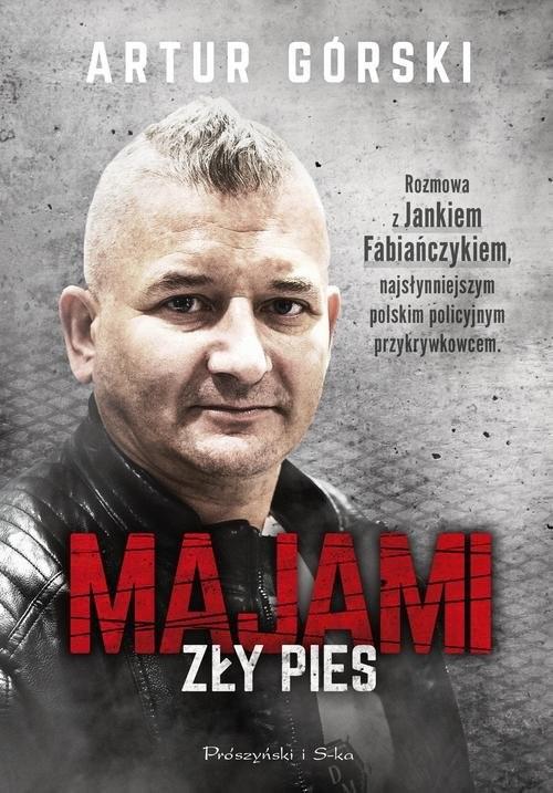 okładka Majami Zły pies, Książka | Górski Artur