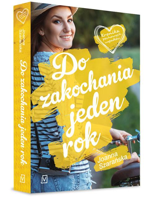 okładka Do zakochania jeden rok, Książka   Joanna  Szarańska