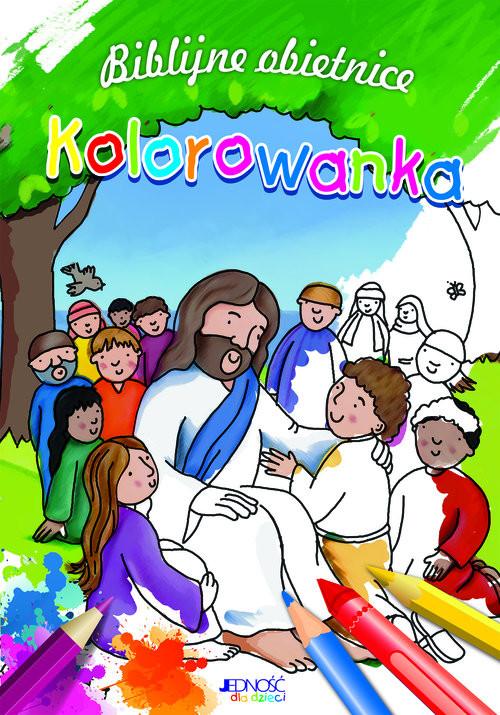 okładka Biblijne obietnice Kolorowanka, Książka | David Juliet