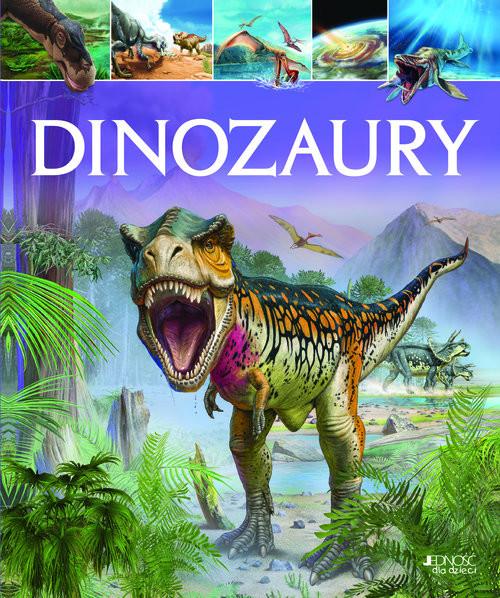 okładka Dinozaury, Książka   Clare (tekst); praca zbiorowa (ilustr Hibbert