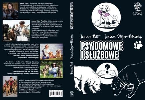 okładka Psy domowe i służbowe, Książka | Joanna  Stojer-Polańska, Joanna Pulit