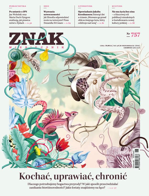 okładka ZNAK 757 6/2018, Książka |