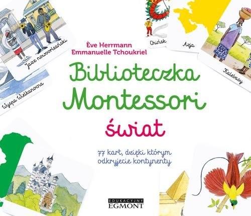 okładka Biblioteczka Montessori Świat, Książka | Herrmann Eve