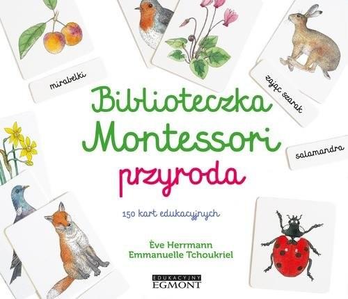 okładka Biblioteczka Montessori Przyroda, Książka | Herrmann Eve