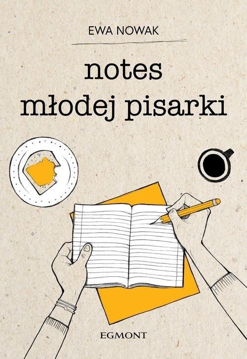 okładka Notes młodej pisarki, Książka | Ewa Nowak