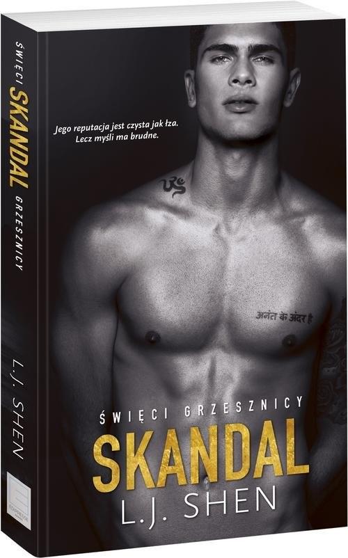 okładka Skandal, Książka | Shen L.J