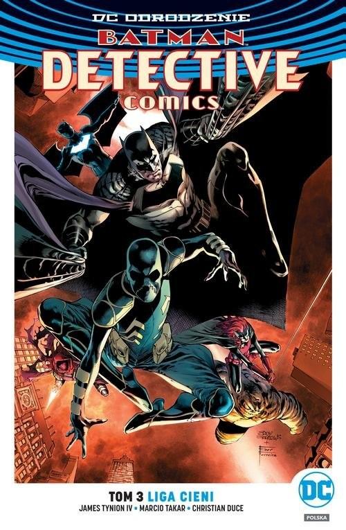 okładka Batman Detective Comics T.3 Liga Cieni, Książka   James Tynion IV, Marcio Takara, Christia Duce