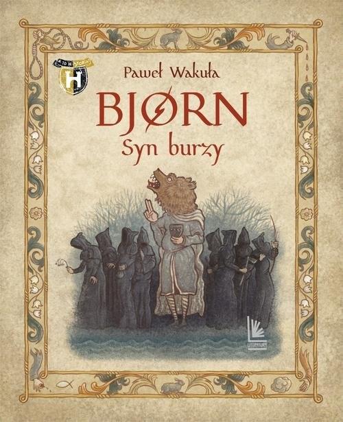 okładka Bjorn Syn burzy, Książka | Wakuła Paweł