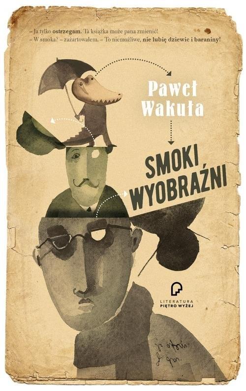 okładka Smoki wyobraźni, Książka | Wakuła Paweł