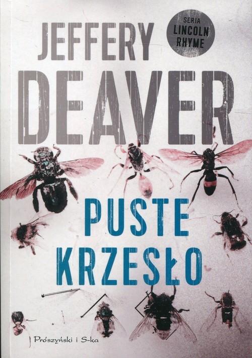 okładka Puste krzesło, Książka | Jeffery Deaver