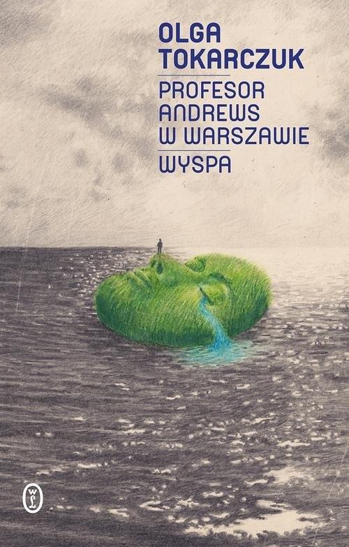 okładka Profesor Andrews w Warszawie Wyspa, Książka | Olga Tokarczuk