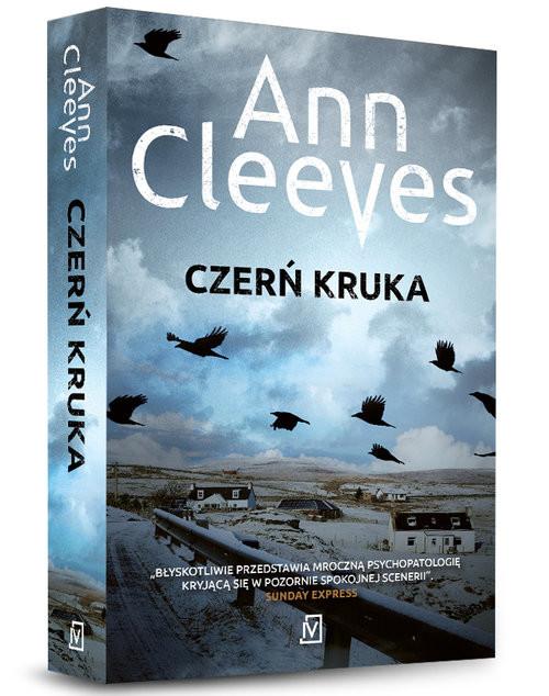 okładka Czerń kruka, Książka | Ann Cleeves