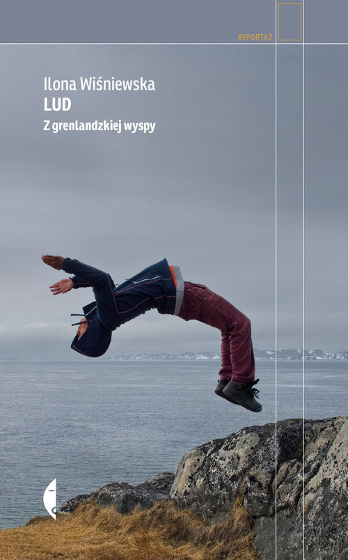 okładka Lud Z grenlandzkiej wyspyksiążka      Wiśniewska Ilona