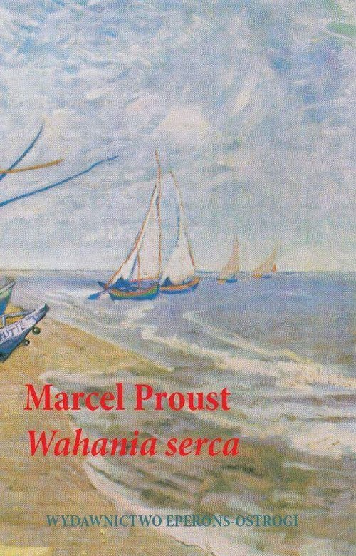okładka Wahania serca, Książka | Proust Marcel