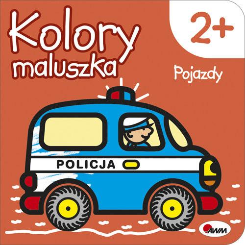 okładka Kolory maluszka Pojazdy, Książka   Kozera Piotr