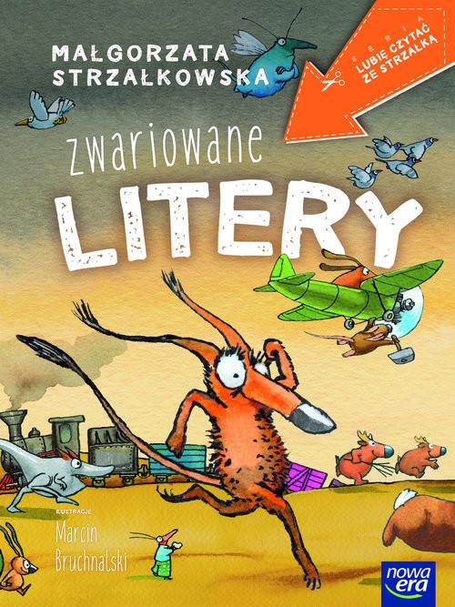 okładka Zwariowane litery, Książka | Małgorzata Strzałkowska