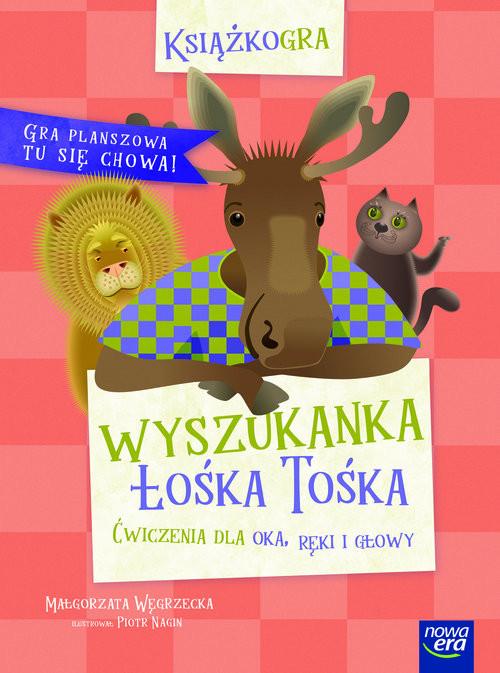 okładka Wyszukanka Łośka Tośka, Książka | Węgrzecka Małgorzata