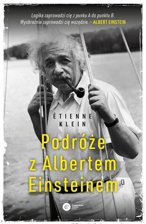 okładka Podróże z Albertem Einsteinem, Książka | Klein Etienne