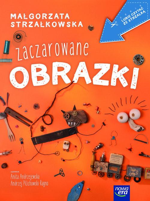 okładka Zaczarowane obrazki, Książka | Małgorzata Strzałkowska