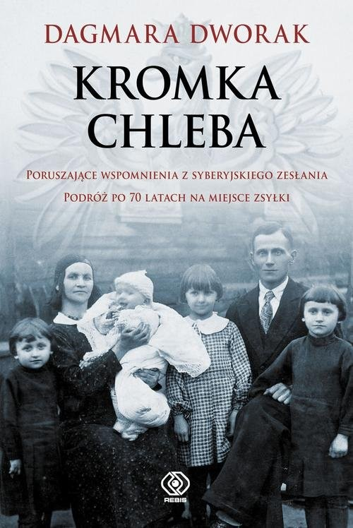 okładka Kromka chleba, Książka | Dworak Dagmara