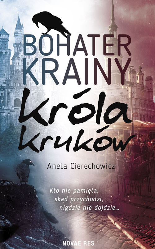 okładka Bohater Krainy Króla Kruków, Książka   Cierechowicz Aneta