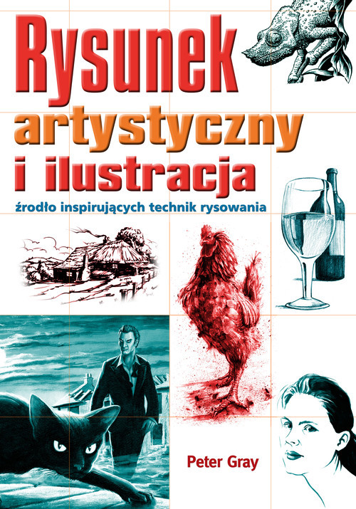okładka Rysunek artystyczny i ilustracja źródło inspirujących technik rysowania, Książka   Gray Peter