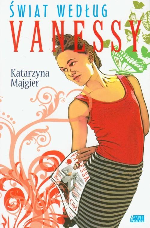 okładka Świat według Vanessy, Książka | Katarzyna Majgier
