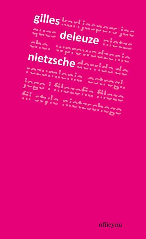 okładka Nietzsche, Książka   Deleuze Gilles