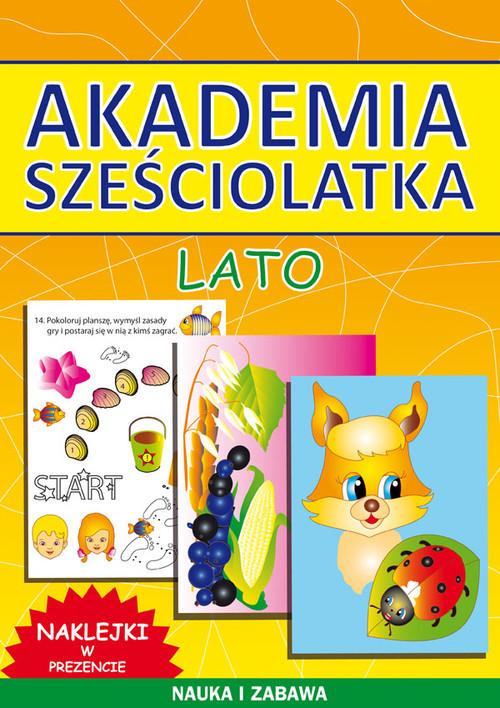 okładka Akademia sześciolatka Lato, Książka | Beata  Guzowska, Kamila  Pawlicka
