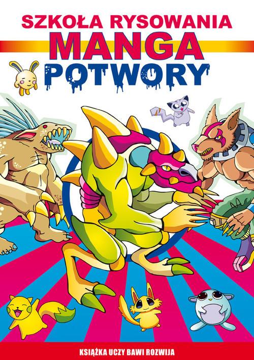 okładka Manga Potwory Szkoła rysowania, Książka | Jagielski Mateusz