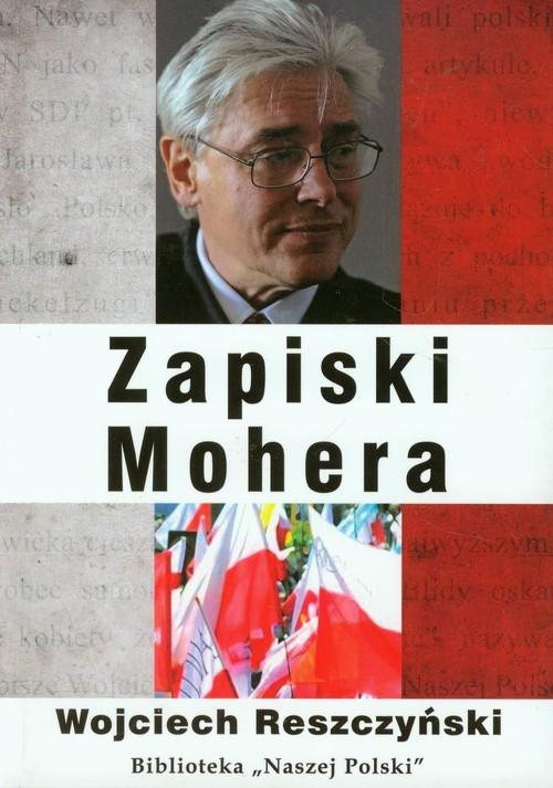 okładka Zapiski Mohera, Książka   Reszczyński Wojciech