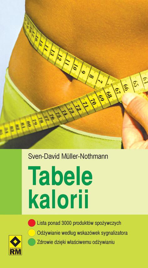 okładka Tabele kalorii, Książka | Muller-Nothmann Sven-David