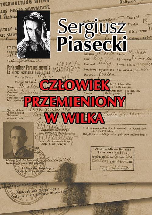 okładka Człowiek przemieniony w wilka, Książka | Sergiusz Piasecki
