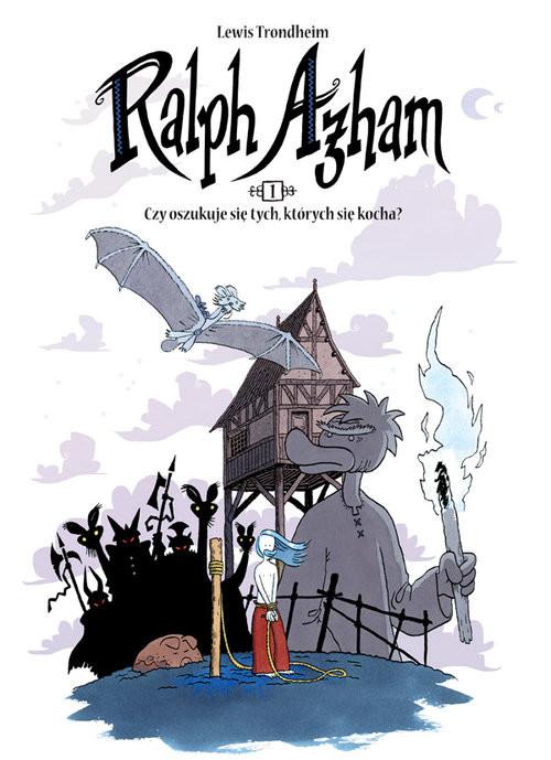okładka Ralph Azham 1 Czy oszukuje się tych, których się kocha?, Książka   Trondheim Lewis